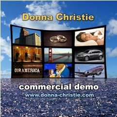 Commercial voice over demo cover